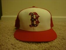 VTG Boston Red Sox New Era 7 1/8 hat cap 2011 Stars & Stripes Flag 4th of July
