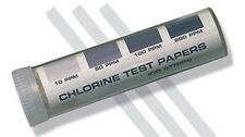 100  PERCISION CHLORINE SANITIZER TEST STRIPS  FREE SHIPPING US ONLY