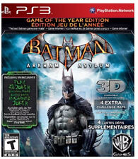 Batman: Arkham Asylum (Game of the Year Edition)(PS3)