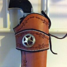 Western Leather Gun Holster  Single Actuon Cowboy Action