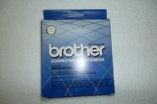 Brother Correctable Film Typewriter Ribbon Reorder # 1030 Black 50K Char OEM NEW