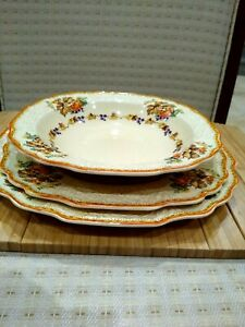 1 Myott Staffordshire collectible bowl 19 cm
