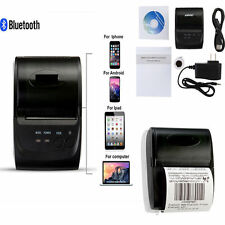 Bluetooth Wireless Pocket Mobile Thermal Receipt Printer for Android IOS 58mm MU