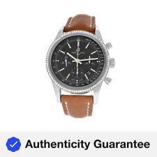 Breitling Transocean Chronograph AB015253/BA99-433X мужские часы с бриллиантами 43 мм
