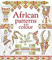 African Patterns to Colour (Patterns to Colour) by Struan Reid, NEW Book, FREE &