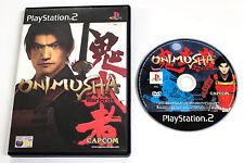 Sony PLAYSTATION 2 PS2 ONIMUSHA WARLORDS 2000 Capcom SLES-50247 PRIMA STAMPA