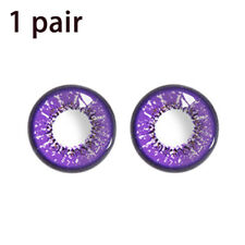 Cosmetic Soft Contact Lenses Eye Beauty Makeup Cosplay Masquerade Fast Ship
