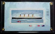 TITANIC SOUVENIR SHEET STAMP CANADA 2012  MNH