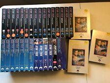 STAR TREK VHS LOT OF 33! ORIGINAL UNCUT,COLLECTORS EDITION,ANIMATED CARTOON+