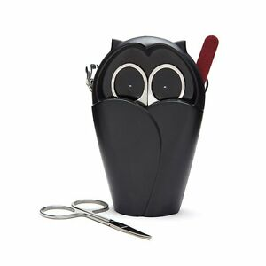 Monkey Business Archie Black Nail Tool Holder - Clipper, Scissor & File Storage
