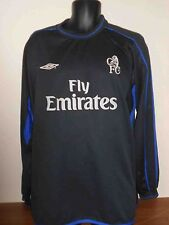 Chelsea  Long Sleeves Away Shirt (2002/2004) xxl men's #422