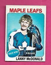 1975-76 OPC # 23 LEAFS LANNY MCDONALD  EX-MT CARD (INV# D2069)