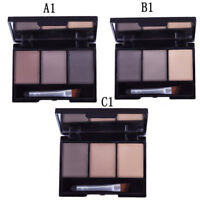 2018 Eyebrow Shadow Mineral Powder Palette Natural Brow Definition Makeup