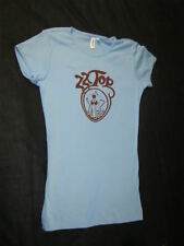 Original Authentic Zz Top 1975 Ladies tour shirt Choice Of Pink Or Baby Blue