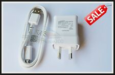 New Genuine 1A Samsung Galaxy S2 S3 AC Wall Charger Adapter+USB Cable