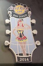 Hard Rock Cafe / SAN DIEGO / Go Go Girls Series / 2014 / Pin