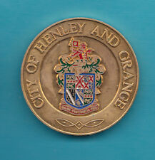 Rotary Confrence 1986 Medal City of Henley and Grange South Australia 2 Inches