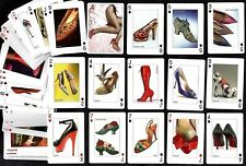 Shoes Fashion & Fantasy Sealed Poker Playing Cards Set Ladies Designer Fetish