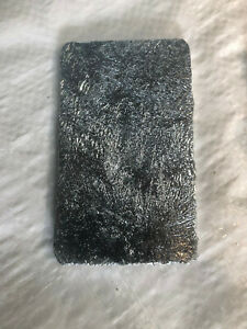 ZINC ANODE - PURE ZINC ANODE FOR ELECTROPLATING - PROFESSIONAL GRADE PLATING