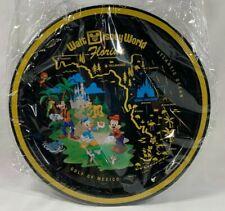 Walt Disney World Retro Beverage Serving Metal Tray ORANGE BIRD Mickey Chip Dale