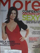 MORE MAGAZINE SELA WARD AT 49 I'VE LEARNED THAT BEAUTIFUL WORD NO LIFE AFTER 40