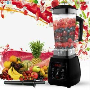 Professional Blender Touch Screen Soup Smoothie Shake 2000Watt 5Core JB 2000D