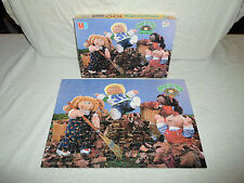 100% Complete Cabbage Patch Kids 100 Piece Puzzle Autumn Fall Leaves Doll Friend