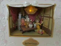 Precious Moments Disney Belle Be Our Guest Shadow Box Lights & Sound LED NEW