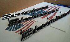 Datsun 510 BLUEBIRD SSS JDM fender & trunk emblems NEW set of 3