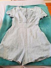 d2f84f4cc4 KOOKAI Playsuit Dress Blue Denim Size 34 B42