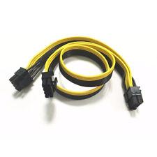 1X PCI-E 8 Pin auf Dual 8 Pin/PCIe 8pin-2x(6+2 Pin) Grafik Videokarte Stromkabel