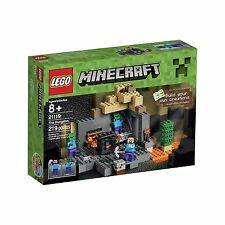 LEGO Minecraft 21119 the Dungeon Building Kit Free Shipping