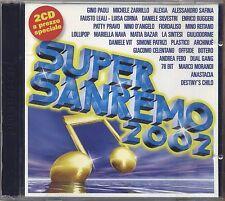 Supersanremo 2002 - PAOLI ZARRILLO ALEXIA SAFINA LEALI SILVESTRI RUGGERI - 2 CD