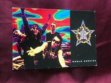 U2 official card from 1993-Photo A.Corbijn-Music/Band-Bono -Zoo Tv Tour Zooropa