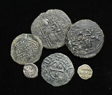 Mixed lot of 6 Medieval coins, including some scarcer Islamic types