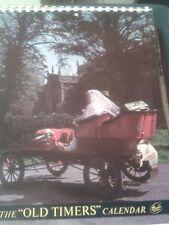 Old Timers Vintage Car Calendar 1972.