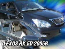 LEXUS RX 5D 2004 - 2009 -  XU30  Wind deflectors 4.pc  HEKO  30007