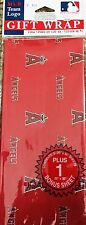 Angels Baseball Logo Gift Wrap