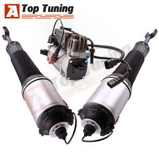 Fit Audi A8 Quattro S8 Front Left Right Strut Suspension Air Compressor KIT