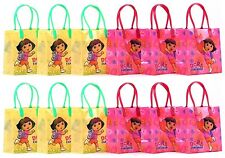 """Dora The Explorer Party Favor Goodie Gift Bag - 6"""" Small Size (12 Packs)"""