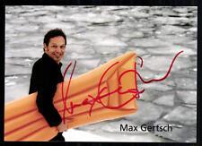 Max Gertsch Autogrammkarte Original Signiert ## BC 14848