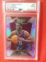 2014-15 Select Joel Embiid RC Silver Prizm PSA 9 MINT Refractor Rookie Card