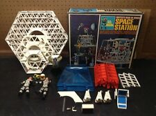 Major Matt Mason Mattel's Man In Space Space Station with Box Near Complete 1966