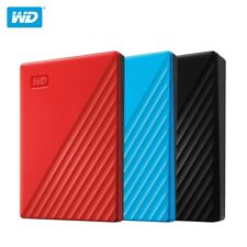 Western Digital 5TB 4TB 2TB 1TB My Passport HDD External Portable Hard Disk WD