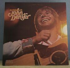 An Evening With John Denver 1975  UK Double Vinyl LP  EXCELLENT CONDITION live E