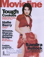 Movieline Magazine April 1995 Sandra Bullock Halle Berry Winona, Sharon,Juliette