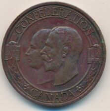 CANADA MEDAL 1927 CONFEDERATION MEDAL NOT LISTED 1897-1927