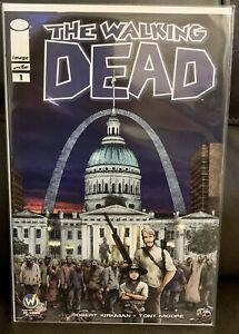 Walking Dead #1 CGC 9.8, US Capitol Cover, St. Louis WW Exclusive - Kirkman