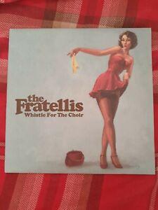 "The Fratellis Whistle For The Choir 8"" Light Blue Single"
