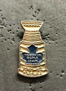 Toronto Maple Leafs Stanley Cup 1961-62 1963-64 NHL Hockey Pin